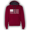 Red MAGA Flag Hoodie - Great American Era, LLC