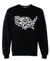 United Guns of America Crewneck Sweatshirt - Great American Era, LLC