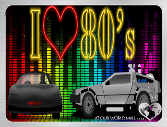 <3 I Love The 80's ! <3