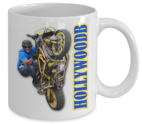 Hollywood B - World Class XDL Freestyle Motorsport Stunt Rider Mug