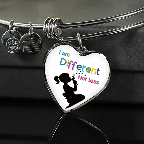 I Am Different - Autism Acceptance Necklace or Bangle