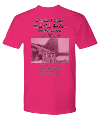 Rhein Main Air Base Germany C-47 & Crew TShirt Men Women Youth