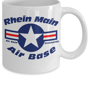 USAF Rhein Main Air Base Germany Mug