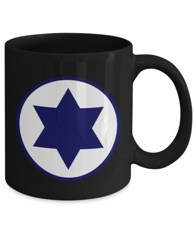 IAF Israeli Air Force Star Of David Mug