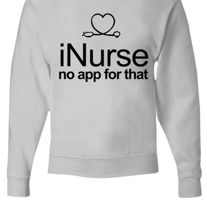 iNurse Funny Nurse Era Zip or Pull Over Hoodie
