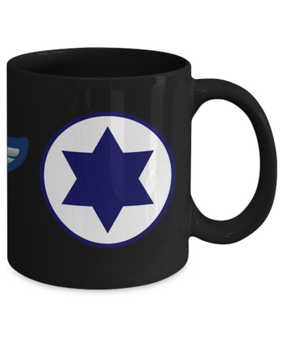 Israeli Air Force IAF Shield Wings Roundel Mug