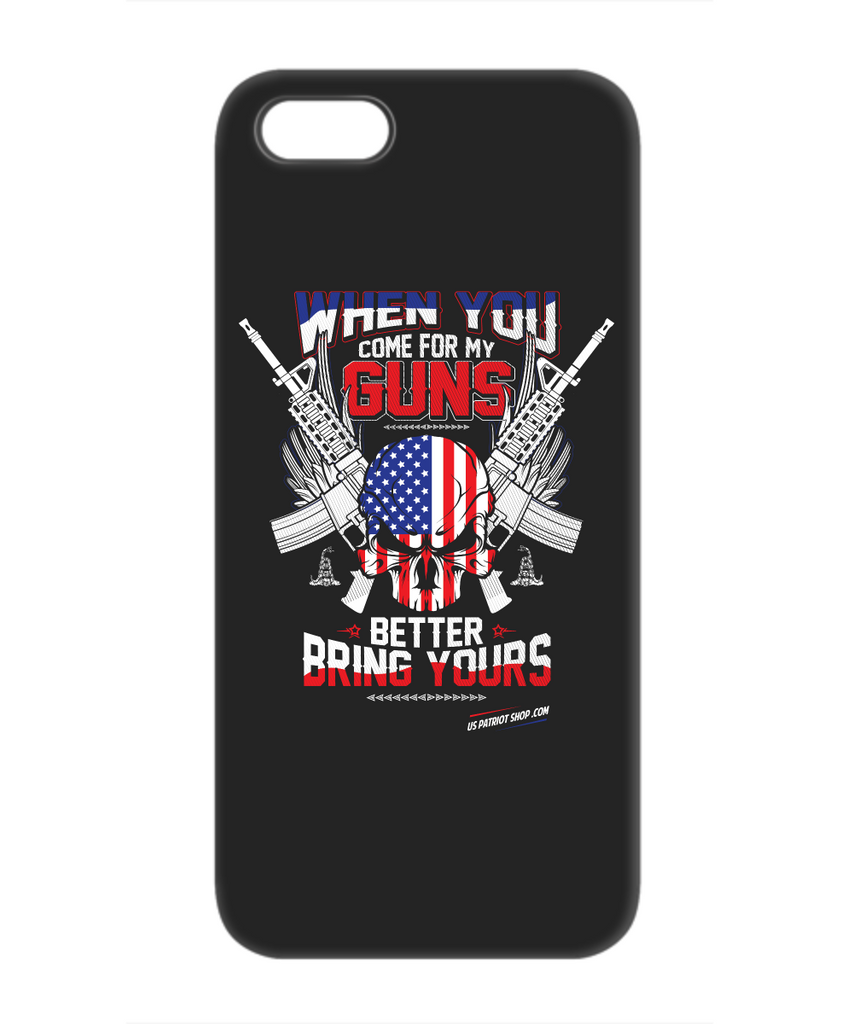 When You Come For My Guns - Patriot  iPhone 5C Case
