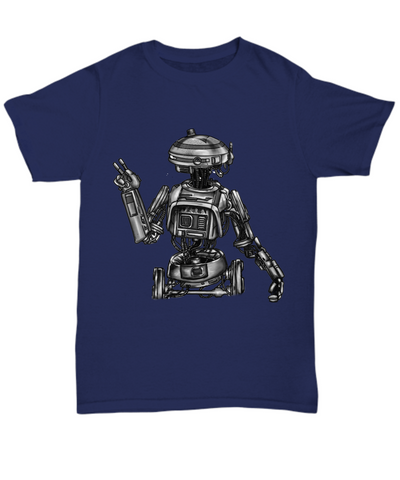 Artists Concept of L3-37 Star Wars Robot (Hand Sketched and Duplicated) Shirt by Award Winning Paint By James