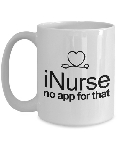 iNurse Funny Era Nurse Coffee Mug