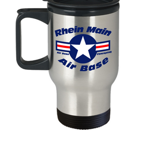502d Operations Support Squadron Rhein Main Air Base Germany Travel Mug