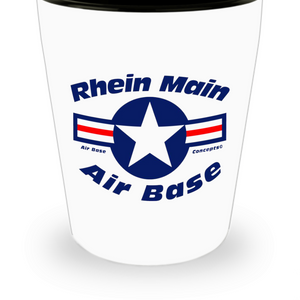 Rhein Main Air Base Shot Glass