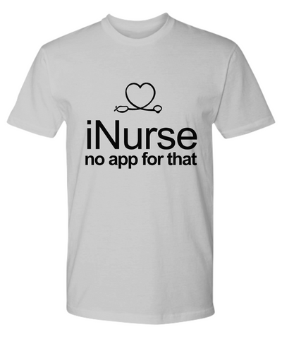 iNurse Funny Era Nurse Shirt in Mens and Womens Style