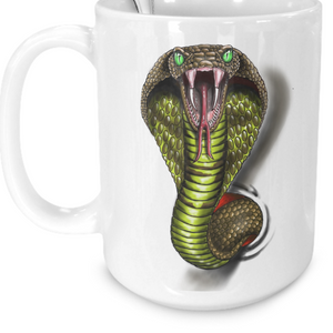 King Cobra Coffee / Tea Mug