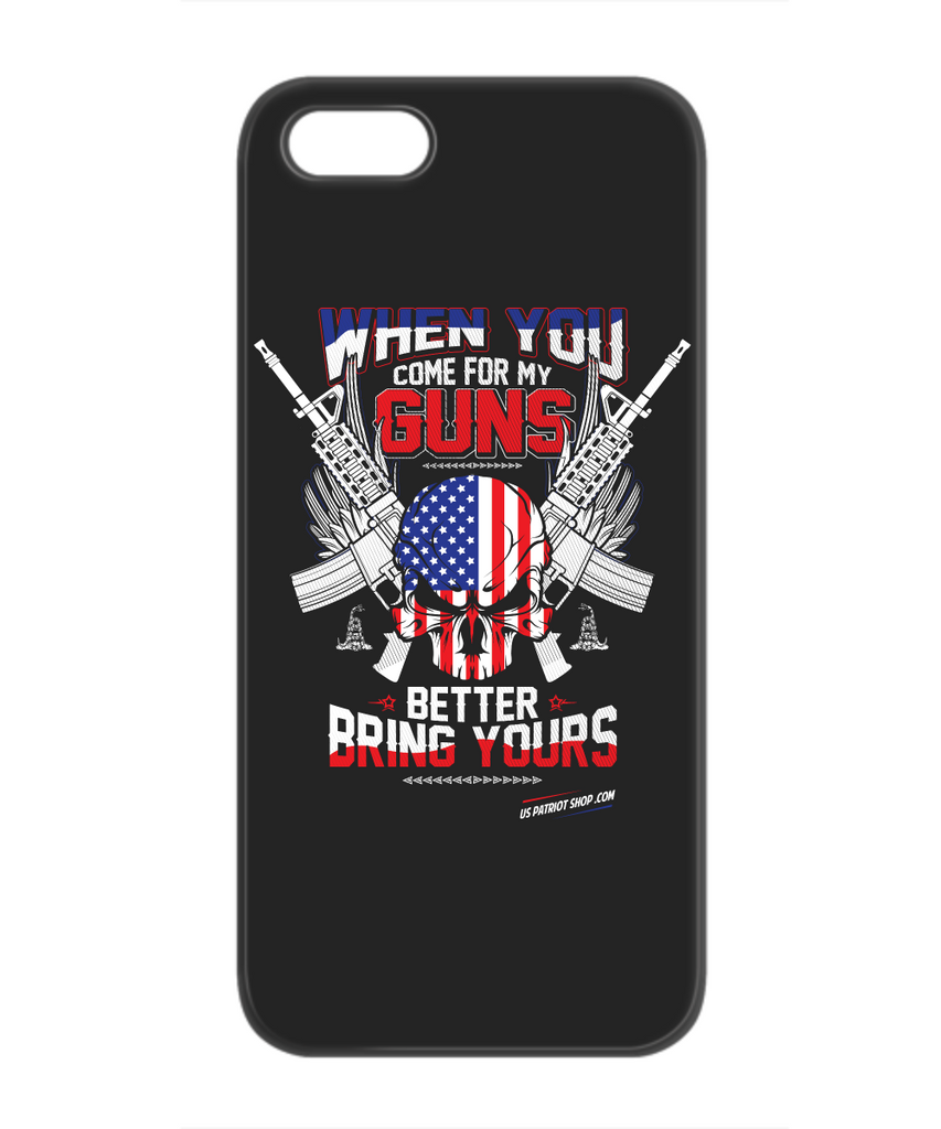When You Come For My Guns - Patriot 	iPhone 5/5S Case