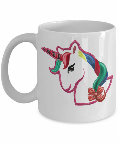 Kid In Candy Store Unicorn Coffee Mug