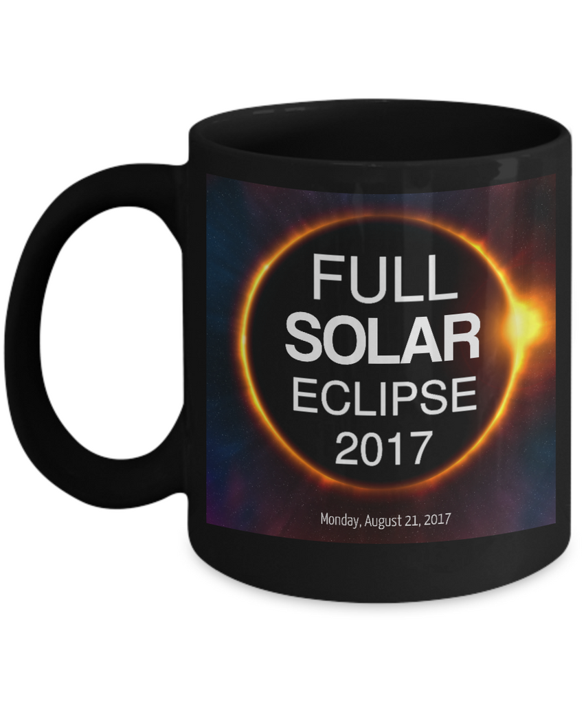 Full Solar Eclipse 2017 Mug