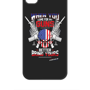 When You Come For My Guns - Patriot 	iPhone 4/4S Case