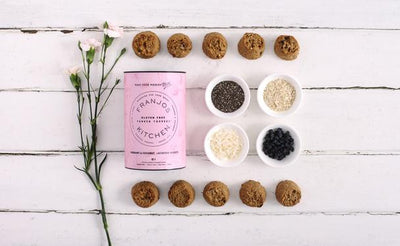 Franjos Kitchen Gluten Free Currant and Coconut Tanker Topper Biscuits