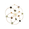 Crystal Grid - Healing Crystal Wall Decor - Flower Of Life