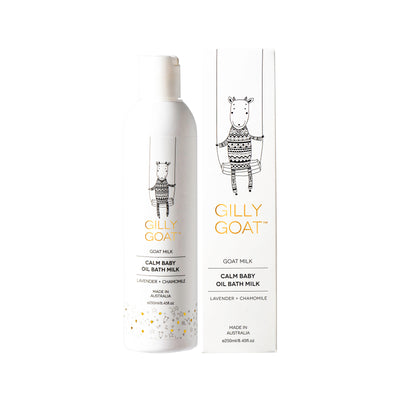 GILLY GOAT CALM BABY OIL BATH MILK 250ml