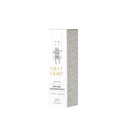 Gilly Goat Safe Baby Sunscreen SPF 15 125ML