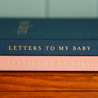 Raising You - Letters To My Baby NAVY