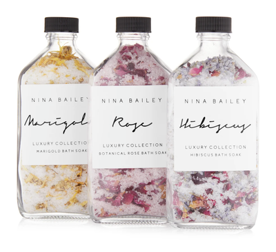 Nina Bailey - BOTANICAL BATH SOAKS