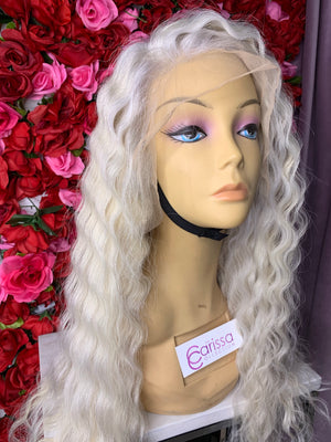 Stormy White Blonde Long PRE ORDER