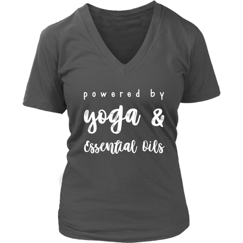 Yoga & Essential Oils Ladies V-Neck