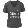 Coffee & Essential Oils Ladies V-Neck