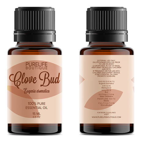 100% Pure Clove Bud Essential Oil