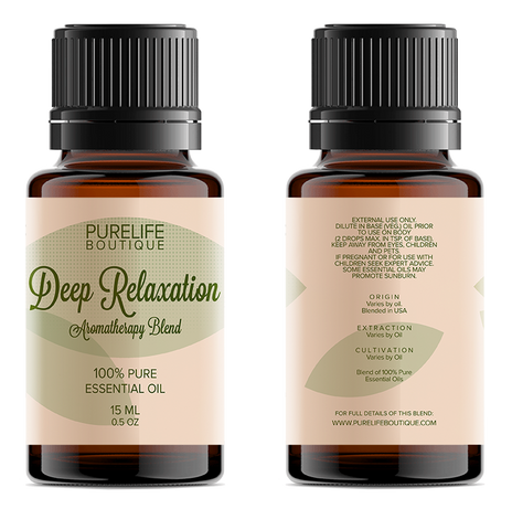 Deep Relaxation Aromatherapy Blend