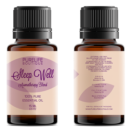 Sleep Well Aromatherapy Blend