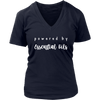 Powered By Essential Oils Ladies V-Neck