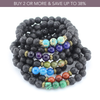 'Colors Of The Earth' Lava Stone Diffuser Bracelets