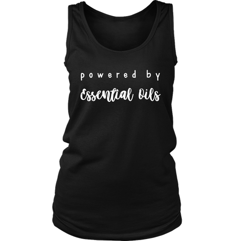 Powered by Essential Oils Ladies Tank