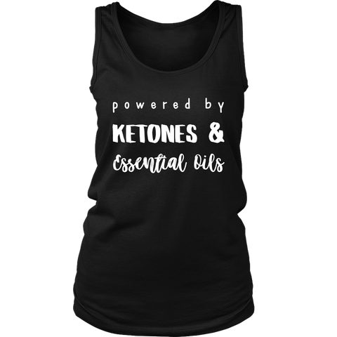 Ketones & Essential Oils Ladies Tank