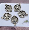 Antique Essential Oil Necklace & 5 Diffuser Pads - Half Price Today!