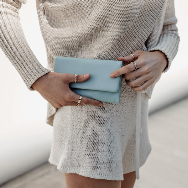 Audrey Wallet in Sky