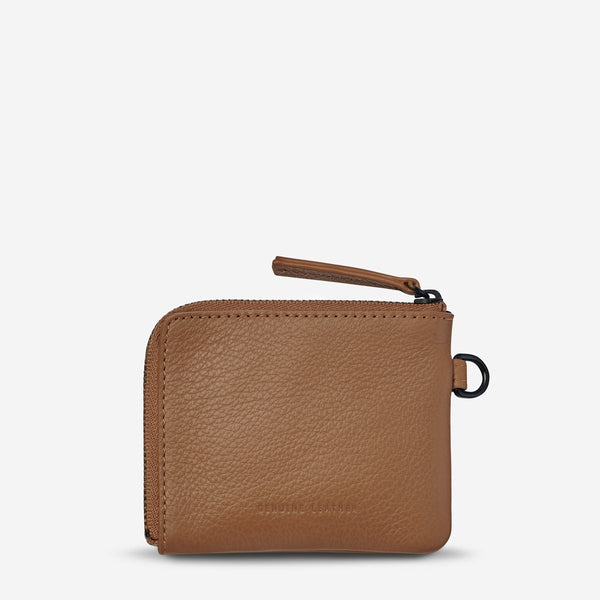 Part Time Friends Wallet in Tan
