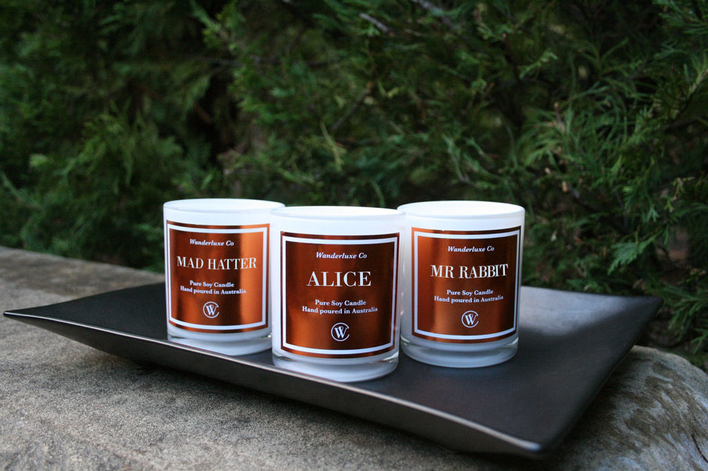 Wanderluxe Co - Personalised Candles