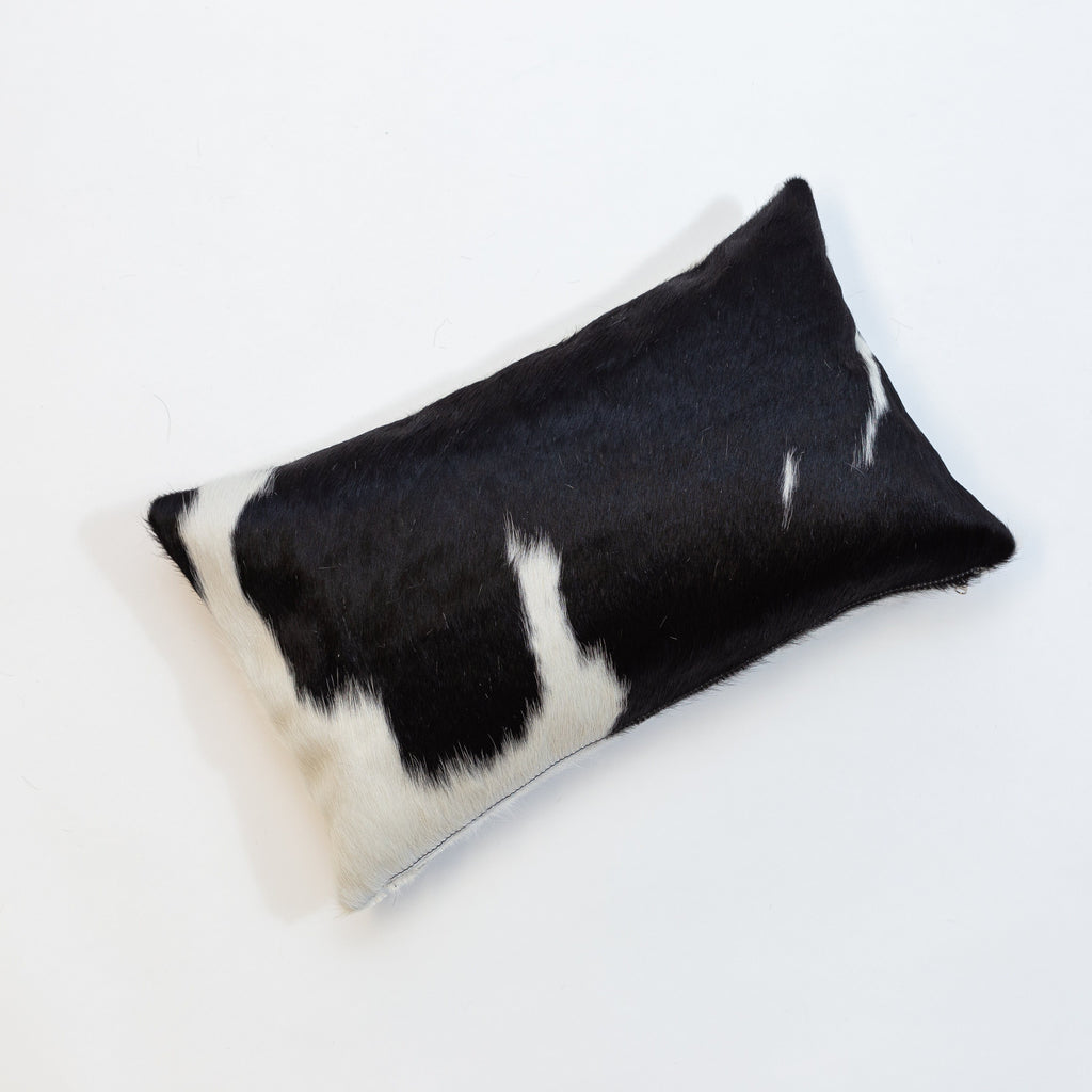 Double Sided Cushion 50 cm by 30 cm Black White