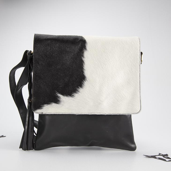 Large Cowhide messenger