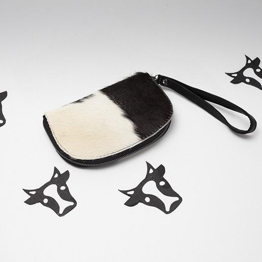 Gorgeous Fur On Hide Coin Purse