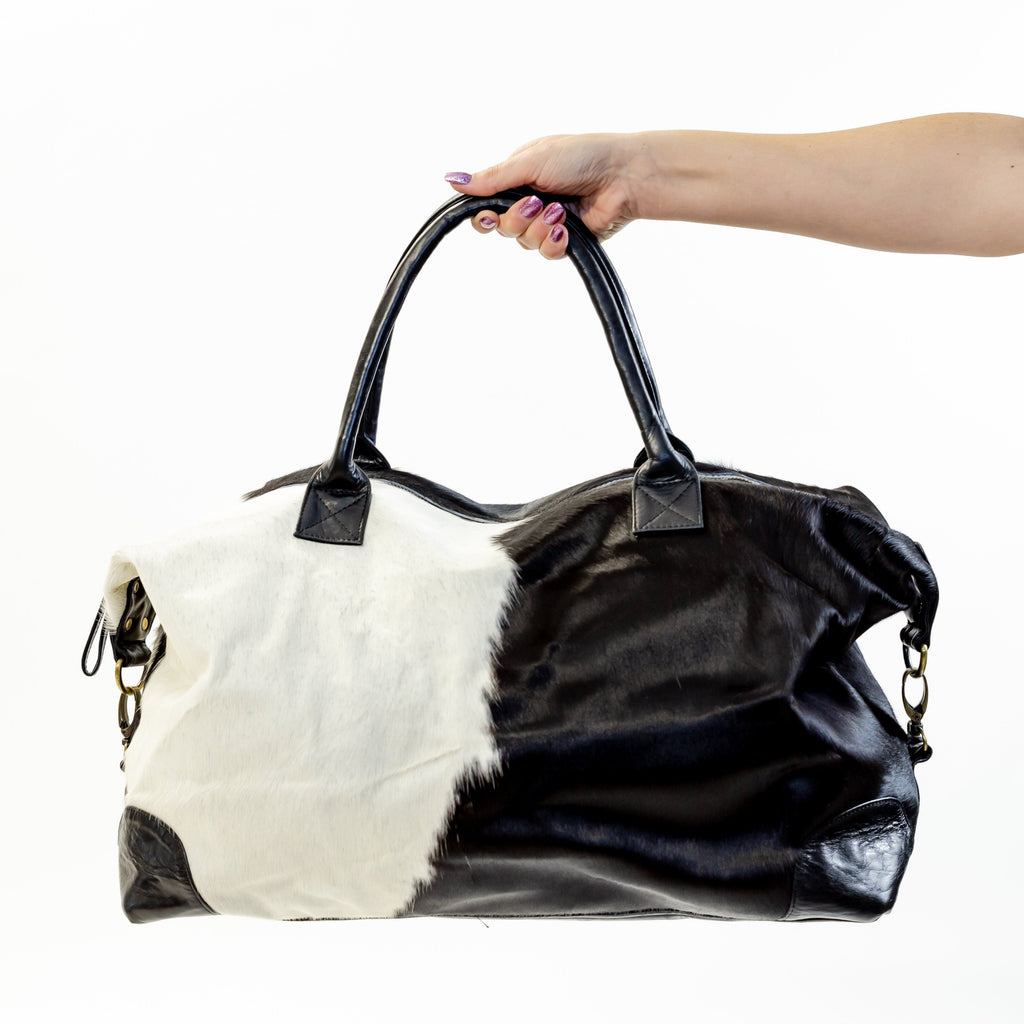Full Cowhide Travel bag Bag of the Week.