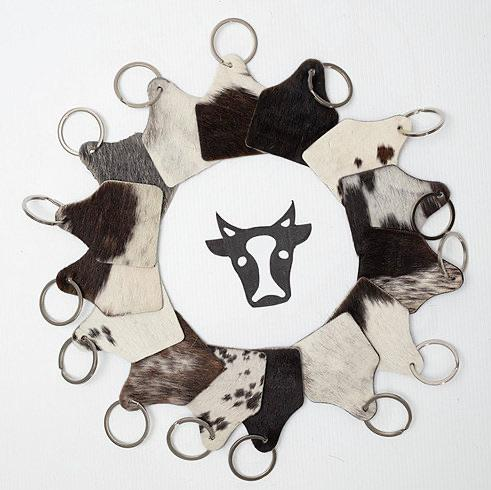 Cattle Tag Keyring