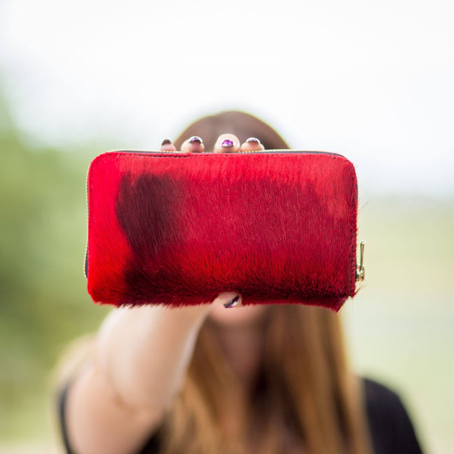 Springbok wallet red