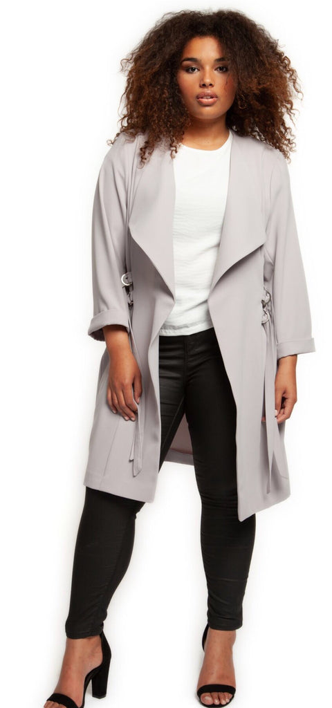 DEX Curvy Girl Waterfall Front Duster