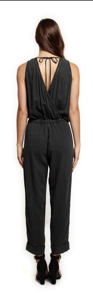DEX Charcoal Jumpsuit