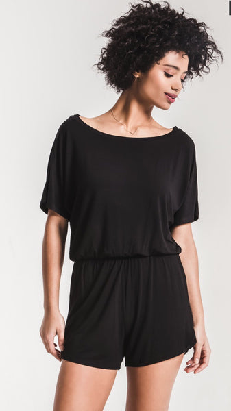 Z SUPPLY SLEEK JERSEY ROMPER